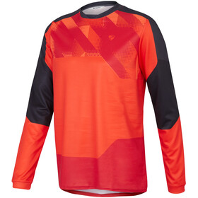 Ziener Nanning Longsleeve Jersey Heren, red pop